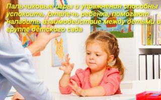Какая цель пальчиковой гимнастики в детском саду