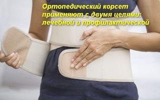 Все про ортопедические корсеты для спины