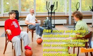 Упражнения ЛФК после инфаркта миокарда