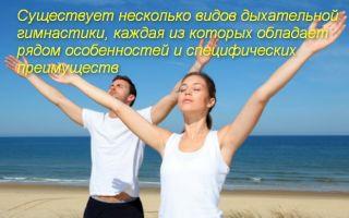 Виды и упражнения дыхательной гимнастики