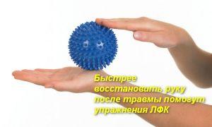 Полный комплекс упражнений ЛФК для лучезапястного сустава