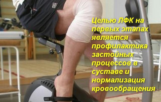 забинтованное колено